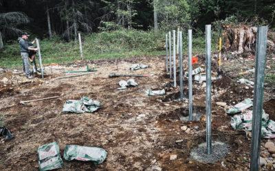 Greenhouse Build Begins